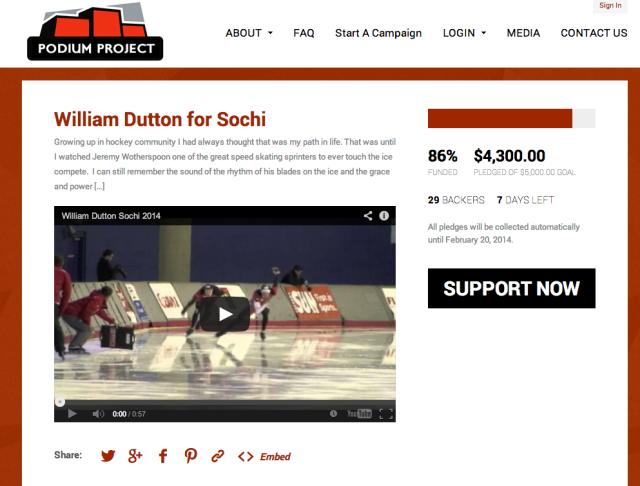William Dutton for Sochi