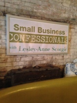 Our Small Business Confessional Booth was a hit!
